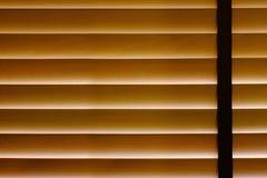 Close-up van Bamboe Blind Gordijn binnenshuis, Zonlichtbescherming, H stock foto