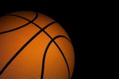 Close-up van basketbal Stock Afbeeldingen