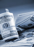 Geld $100 dollarsrekening Royalty-vrije Stock Afbeelding
