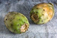 Close-up van cactusfruit stock fotografie