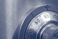 Close-up van Combinatie Veilige Lo Stock Afbeeldingen