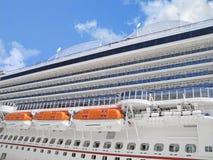 Close-up van Cruiseschip Stock Afbeelding
