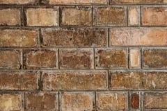 Close-up van de Bakstenen muur Royalty-vrije Stock Afbeelding