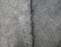 Close-up van de barsten stock foto