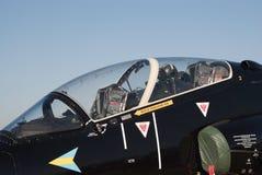 Close-up van de cockpit van Havik BAe Royalty-vrije Stock Fotografie