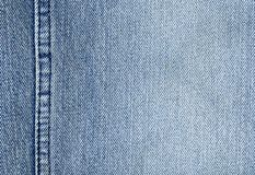 Close-up van de denimdoek Royalty-vrije Stock Afbeelding