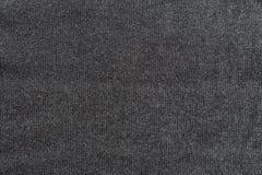 Close-up van de donkere grijze stof van Jersey Stock Foto's