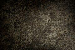 Close-up van de donkere vloer van het grungecement Stock Afbeelding