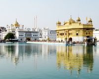 Close-up van de Gouden Tempel, Amritsar Royalty-vrije Stock Afbeelding