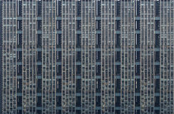 Close-up van de moderne woningbouw, muur, vensters, balco Stock Afbeeldingen