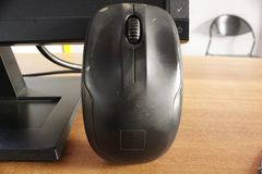 Close-up van de muis van het computertoetsenbord royalty-vrije stock afbeelding