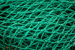 Close-up van de Netten van de Visserijtreiler stock foto