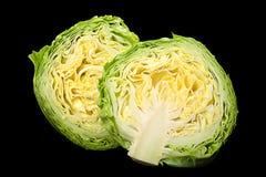 Close-up van de salade de jonge kool Royalty-vrije Stock Afbeeldingen