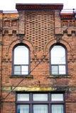 Close-up van de Victoriaanse stijlbouw Royalty-vrije Stock Foto