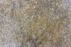 Close-up van de weg de concrete textuur vlekken stock foto