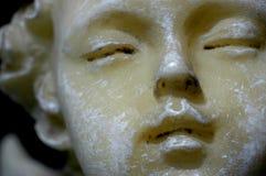 Close-up van deco van Kerstmis, Engel Royalty-vrije Stock Afbeeldingen