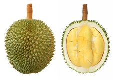 Close-up van durian vruchten Royalty-vrije Stock Afbeeldingen