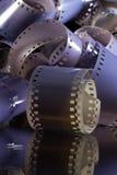 Close-up van een broodje de fotografische films van 35 mm Royalty-vrije Stock Afbeelding