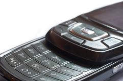 Close-up van een cellphone Stock Foto's