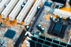 Close-up van een computerbewerker die wordt geschoten royalty-vrije stock foto