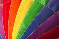 Close-up van een hete luchtballon Royalty-vrije Stock Afbeelding