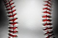 Close-up van een honkbal Stock Afbeeldingen