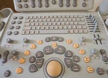 Close-up van een machine van de ultrasone klankscanner Royalty-vrije Stock Afbeeldingen