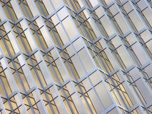 Close-up van een modern gebouw Royalty-vrije Stock Afbeelding