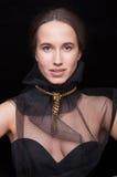 Close-up van een mooi meisje Royalty-vrije Stock Afbeelding