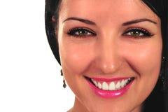Close-up van een mooie vrouw Royalty-vrije Stock Foto's