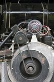 Close-up van een motor van een auto Royalty-vrije Stock Foto's