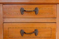 Close-up van een oud meubilair Royalty-vrije Stock Afbeelding