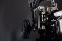 Close-up van een oude filmprojector Stock Foto