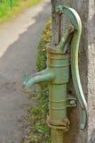 Close-up van een retro waterpomp in de toewijzingen van Gent-Brugge Royalty-vrije Stock Foto's