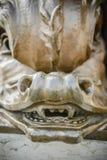 Close-up van een standbeeld Stock Fotografie