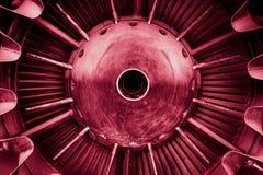 Close-up van een straalmotor stock afbeelding