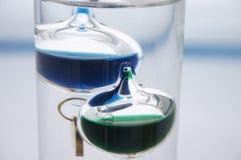 Close-up van een thermometer van Galileo Royalty-vrije Stock Foto's