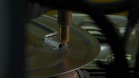 Close-up van elektrisch lassen van metaal stock footage