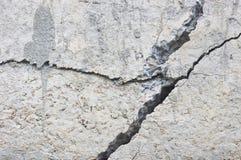 Gebarsten concrete textuur stock afbeelding
