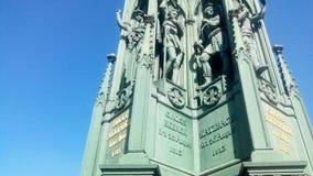 Close-up van gedenkteken op Kreuzberg Berlijn royalty-vrije stock fotografie