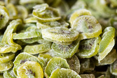 Close-up van geglaceerde kiwi Stock Foto