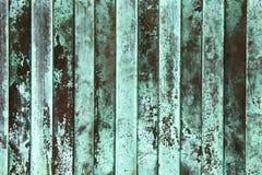 Close-up van geoxydeerd koper stock foto's