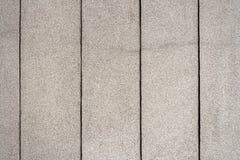 Close-up van gevoerde concrete muurtextuur Royalty-vrije Stock Foto's