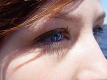 Close-up van Gezicht royalty-vrije stock afbeelding