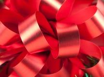 Close-up van grote rode boog Stock Afbeeldingen