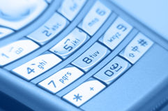 Close-up van Handphone Royalty-vrije Stock Afbeeldingen