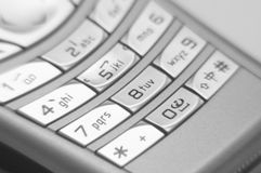 Close-up van Handphone Stock Afbeelding