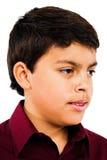 Close-up van het Denken van de Jongen Royalty-vrije Stock Foto's
