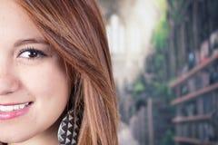 Close-up van het gezicht van de jonge tiener Royalty-vrije Stock Afbeeldingen