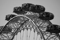 Close-up van het Oog van Londen stock afbeeldingen